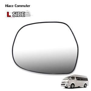 Lh Wing Side Door Mirror Glass Len Fits Toyota Hiace Commuter Ventury 2008 2018