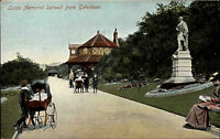 Gateshead England Tyne and Wear AK ~1910 Lucas Memorial Saltwell People Child