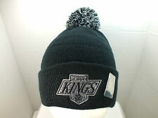 Los Angeles Kings Embroidered Beanie Pom/Top cuffed Knit  Hat NEW by Zephyr