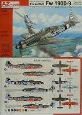 *NEU* Focke-Wulf Fw 190 D-9 Special Marking , AZ Model, 1:72, Plastik
