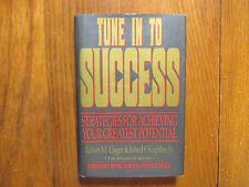 ROBERT M. UNGER/JOHN H. KUPILLAS JR Signed Book(TUNE IN TO SUCCESS-'91 1st Editi