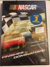 NASCAR GREATEST FINISHES & DOMINATORS Racing Driver Daytona Races DVD NEW!