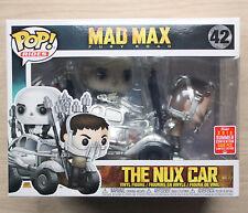 Funko POP Rides MAD MAX FURY ROAD il NUX AUTO SDCC + GRATIS PROTECTOR