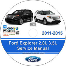 Ford Explorer 2011 2012 2013 2014 2015 Factory Workshop Service Repair Manual