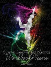 USED (VG) Cursive Handwriting Practice Workbook for Teens by Julie Harper