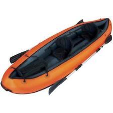 Bestway Ventura Kayak con Rivestimento in Nylon - Arancione, 330 x 94cm (65052)