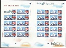 Smiler Stamp Sheet 2009 Stampex GB Great Britain UK Baha'i Lotus Bahai Temple