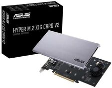 ASUS HYPER M.2 PCIe x16 NVMe VROC RAID Card V2, Supports up to 4x M.2 SSD Drives