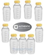 Medela 8oz Bottle x9 Breastmilk Feeding Collection Storage Bottles & lids 250ml