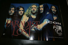 PARADISE LOST ICO IN-STORE ALBUM AD VINTAGE 1994 RARE OUT OF PRINT FOLDED VG++