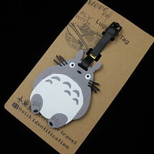 Studio Ghibli Totoro Luggage ID Tags Labels for TRAVEL NAME ADDRESS ID SUITCASE