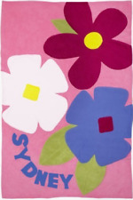 Personalized Blossoms Kids Blanket