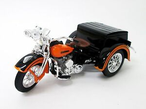 Maisto 1:18 Harley Davidson 1947 Servi-car Sidecar MOTORCYCLE BIKE Model IN BOX