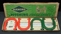 Vintage Diamond Double Ringer Horseshoes Set Duluth: Original Box NOS