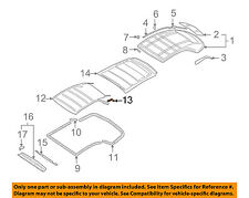 AUDI OEM 04-09 A4 Quattro Convertible/soft Top-Reinforcement 8H0898349