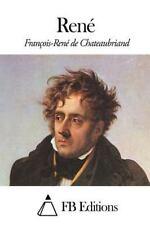 René by François-René de Chateaubriand (2014, Paperback)