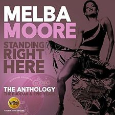 Standing Right Here: Anthology - Buddah & Epic Yea - Melba Moore (2016, CD NEUF)