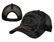 Licencia Oficial-Jack Daniel's - Vintage Truckers deshilachados Gorra de béisbol