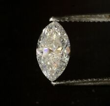 Natural Clarity Enhanced marquise fancy cut EGL certified diamond 1.43ct I1 G