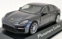 Minichamps 1/43 Scale 0207470 - Porsche Panamera Turbo - Met Grey