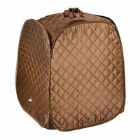 Portable Home Sauna Tent Folding Sauna Spa Box Full Body Slimming Loss Weight