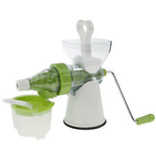 Hand-power Juicer Juice Extractor Cold Press for Carrot Icecream Blend