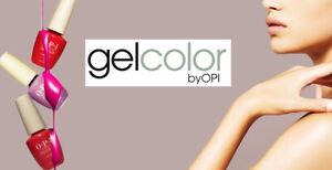OPI  GelColor Gel Color Soak Off UV LED Gel Polish 15ml 0.5 oz NEW COLLECTION