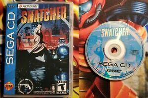 Snatcher (Sega CD, 1994) Replacement Case NO MEDIA