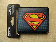 Superman Logo DC Comics Bi-Fold Wallet Official Product by Abysse