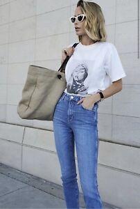 Anine Bing Jagger Denim Jeans Size 28