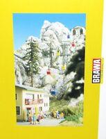 Brawa H0 6290 Kanzelwandbahn Gebäudesatz für Berg- und Talstation - NEU + OVP