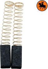 NEW Carbon Brushes BLACK & DECKER DNJ74 drill - 6.35x6.35x13mm