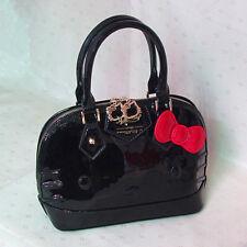 HelloKitty Handbag Tote Shoulder Bag 2017  New  Pu Bow Black  Small Size