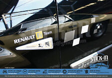 "Renault Megane RS R26 - Set Autocollants Stickers ""Renault F1 Team"" Side/Côtés"