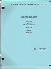 """SEX AND THE CITY show script """"The Drought"""""""
