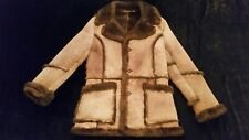 Vtg Sears marlbro man sherpa rancher coat size 42