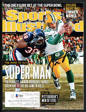 Aaron Rodgers Autographed Signed Sports Illustrated Packers Beckett S76649