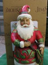 Jim Shore/Enesco Kindly Kris Kringle With Satchel * Brand New In Box* # 4042964
