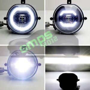 Mini F54 Clubman Front DRL Daytime Running Lights LED Halo Fog lights