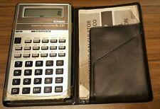 Vintage Casio FX-330 Scientific Calculator w/ Operation Manual(working order)