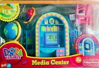 Fisher Price Dora The Explorer Talking Dollhouse MEDIA CENTER NEW