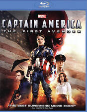 Captain America: The First Avenger (Blu-ray, 2011) Fast Shipping...