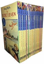 Enid Blyton Complete Original Secret Seven Series 15 Full Books Collection Set