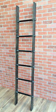 Industrial Cedar Wood Pipe Ladder Display by William Robert's Vintage