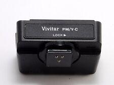 Vivitar Dedicated Processor Module for Yashica-Contax with box. Vivitar item NIB