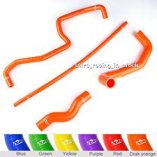 Orange Silicone Radiator Hoses Kit For Nissan 350 Z 350Z 03-06 Infiniti G35