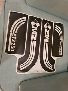 MZ ETZ 250 STICKER DECAL SET  OLD STYLE  brand new  andy mzpats Uxbridge