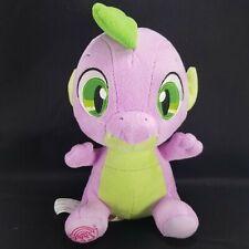 "Spike Dragon Plush Aurora My Little Pony Purple Green Stuffed Animal 10"" Baby"