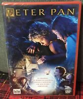 Peter Pan DVD Nuovo Italiano Import P.J.Hogan Jason Isaacs un Film Favoloso