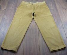 VINTAGE 100% autentico in velluto a coste BURBERRY Cord Pantaloni TAG 50 (adatto W38-L28)